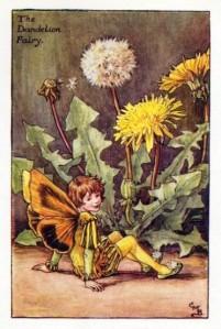 Dandelion-Flower-Fairy-Vintage-Print